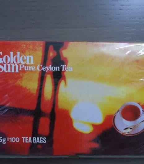 Golden sun Μαύρο τσάι βαπτιζόμενο