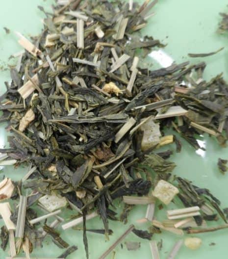 Πράσινο τσάι SENCHA ανανά τζίντζερ